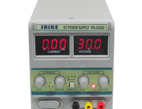 SAIKE PS-305D DC regulated power supply