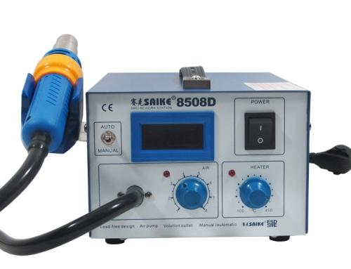 SAIKE 8508D Hot air gun Rework station Air pump