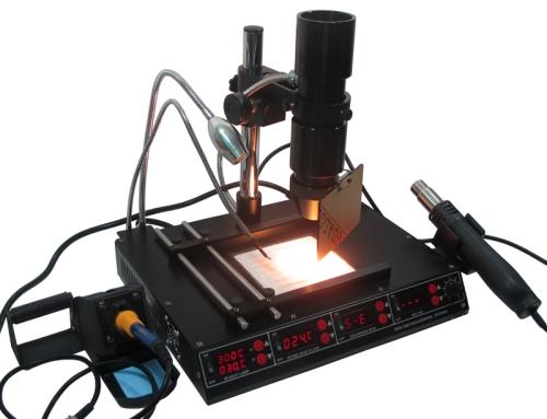 SAIKE 8510D Infrared BGA Rework Station hot air soldering station