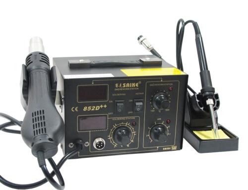 SAIKE 852D++ Hot air soldering station