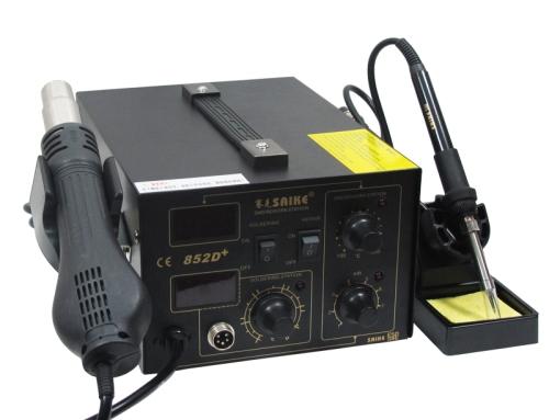 SAIKE 852D+ Hot air soldering station