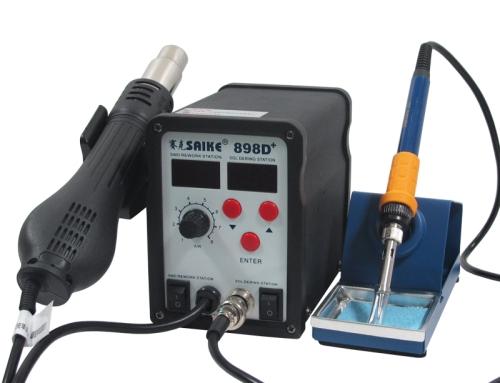 SAIKE 898D+ Hot air soldering station
