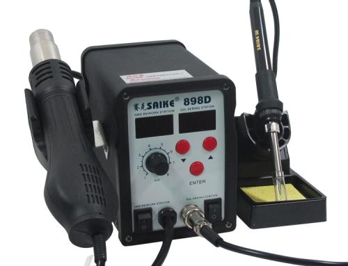 SAIKE 898D Hot air soldering station